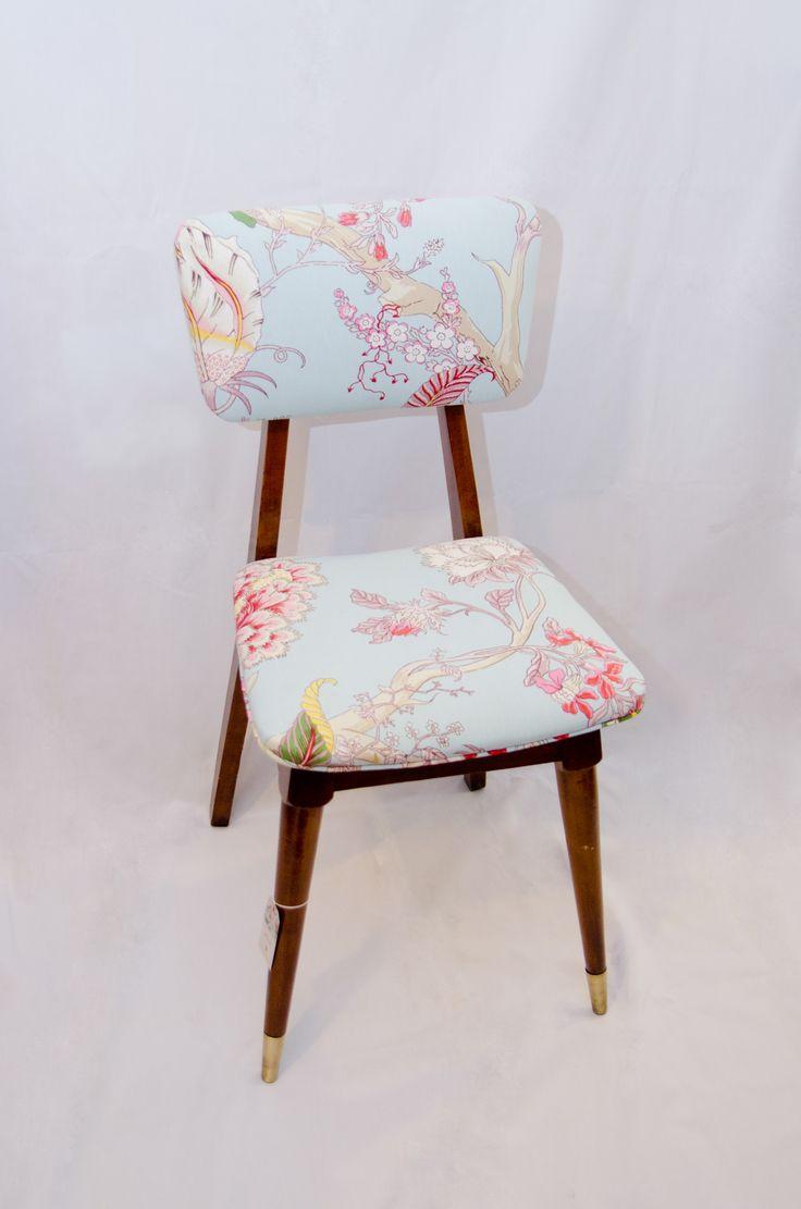 silla vintage restaurada en petite margot / v e n d i d a - s o l d