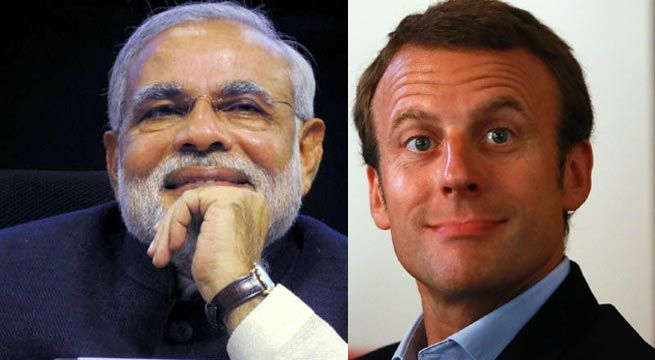 "New Delhi: Prime Minister Narendra Modi on Monday congratulated Emmanuel Macron on being elected as the President of France and said he looked forward to working closely with him to further strengthen the bilateral relations. ""Congratulations to @EmmanuelMacron fr an emphatic victory in..."