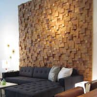 Cedar Feature Wall | STYLEGARAGE