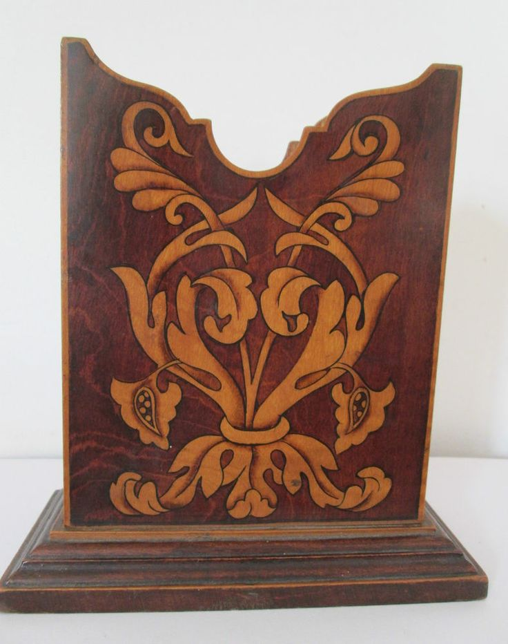 Antique Rosewood Letter Rack