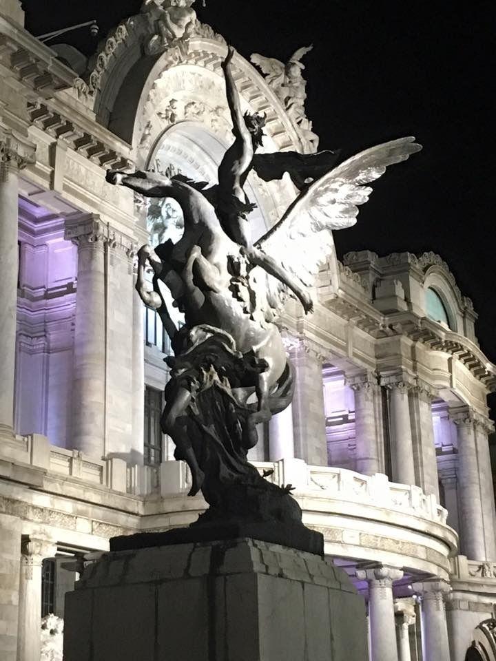 Detalle del Palacio de las Bellas Artes, Ciudad de México