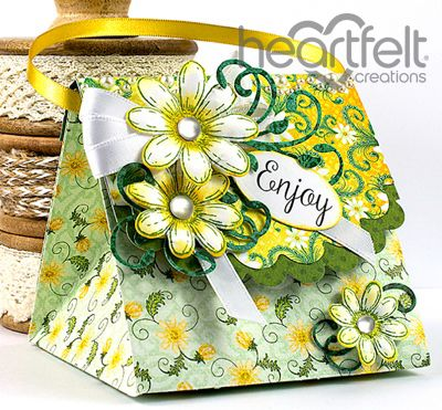 Heartfelt Creations | Daisy Treat Bag