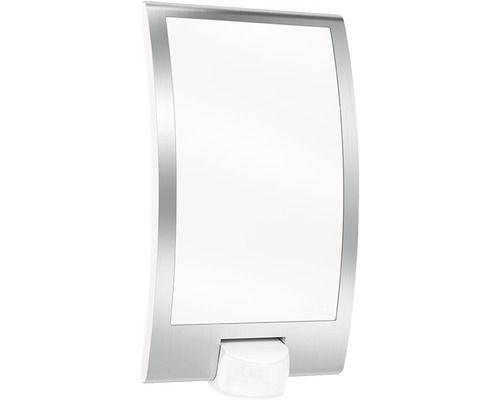 Steinel Außenwandleuchte EEK A++ L22 1-flammig mit Sensor edelstahl/weiß