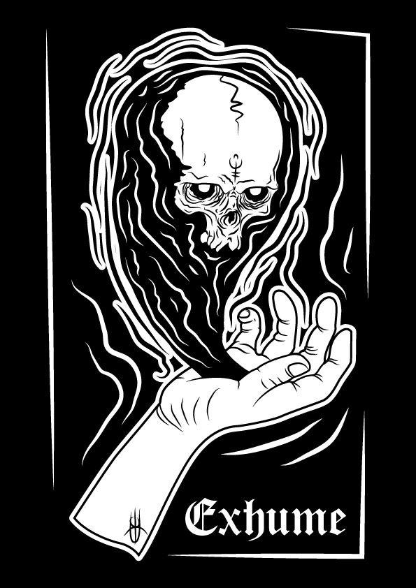 Exhume\\  Illustrazione di Edoardo Perazzini \ IROVM