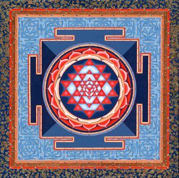 Maha Sri Yantra Mandala