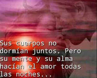 Imagen Romantica de Una Pareja Con Versos Cortos De Amor