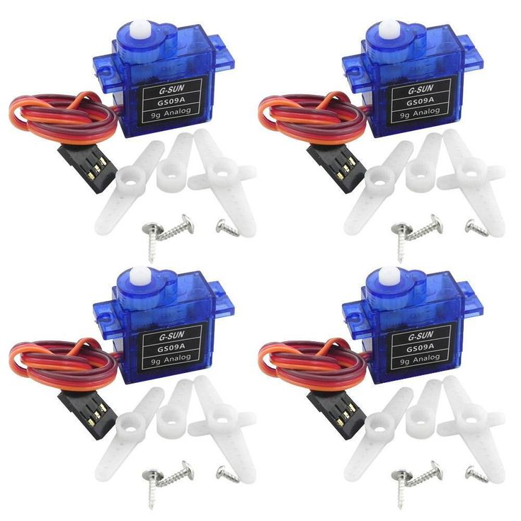 4X Rc Mini Micro sg90 9g Servos for Arduino Board RC 250 450  DIY Smart Vehicle   | eBay