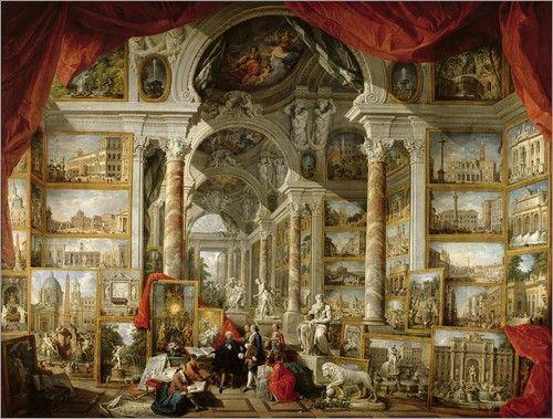 17 Bästa Bilder Om Giovanni Paolo Pannini På Pinterest | Hercules ... Fotos Von Modernen Bdern