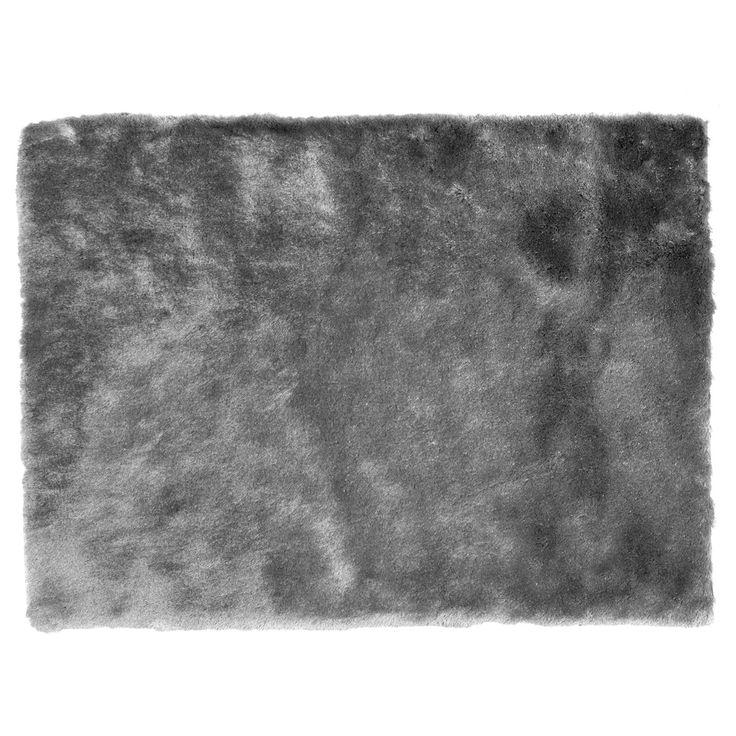 Tapis gris 60x110cm GRIS Gris - Toudou - Les tapis - Textiles et tapis - Salon et salle à manger - Décoration d'intérieur - Alinéa