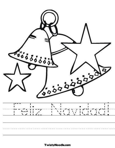 Dibujos de navidad para colorear campanas                                                                                                                                                                                 Más