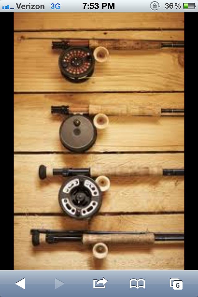 Ideas for hanging fishing poles   Fly fishing, Fish