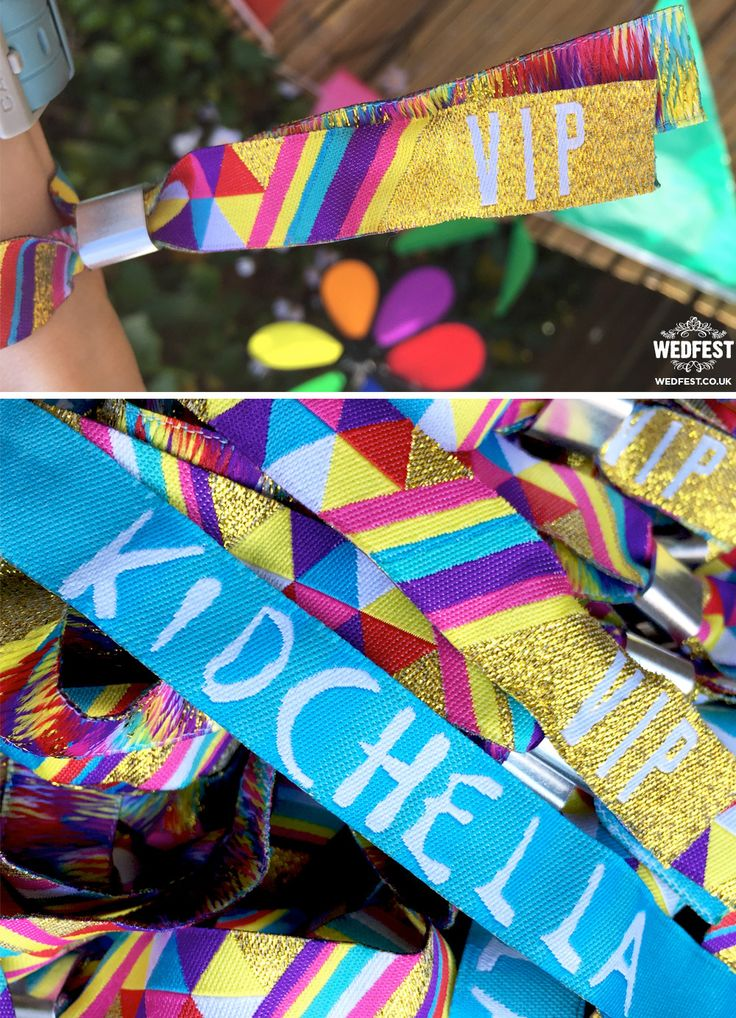 kidchella party wristbands  - wedfest - http://www.wedfest.co/kidchella-party-wristbands/