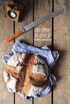Soda bread: 500g good quality - organic wholemeal wheat or spelt flour 2 teaspoons of baking soda 1 teaspoon of seasalt 400 ml buttermilk or 200ml live yoghurt and 200 ml milk or 200ml stout beer and 200 ml buttermilk