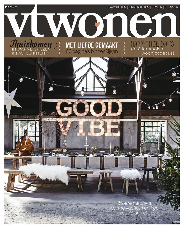 Vtwonen Cover December 2015 Magazine