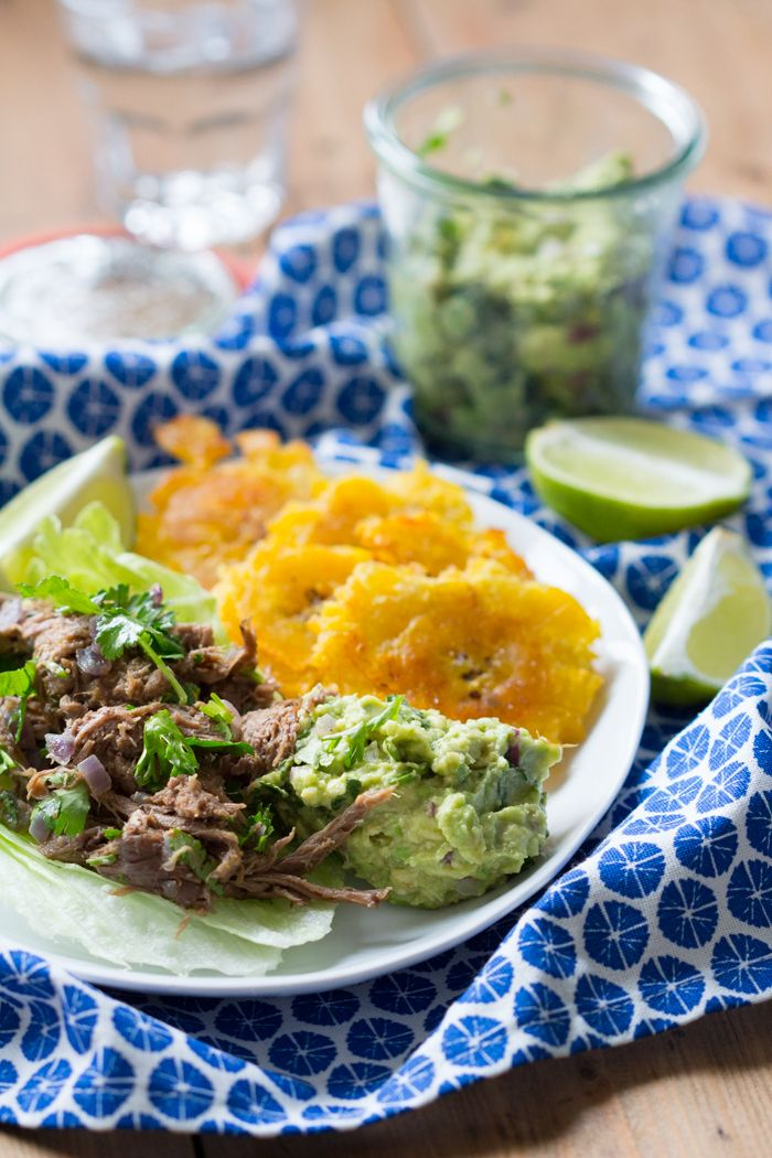 Mexicaanse Taco's met Draadjesvlees www.eetpaleo.nl