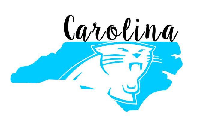 Carolina Panthers Car Decal // Panther Nation // Keep Pounding (7.00 USD) by DivaDesignsByDesirae