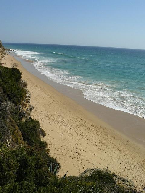 Barbate - Caños de Meca. Las playas son preciosas y con una arena especial.