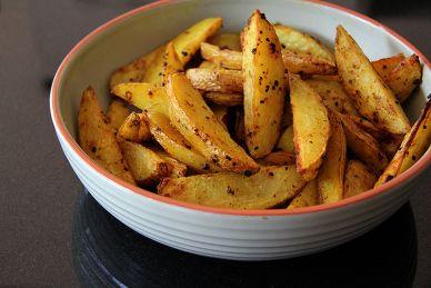 Aardappelpartjes uit de oven