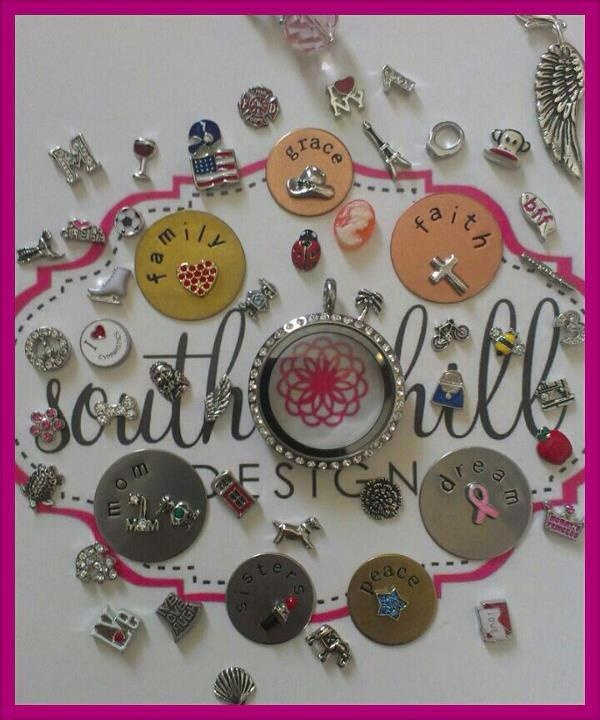 Share your story with a South Hill Designs locket!