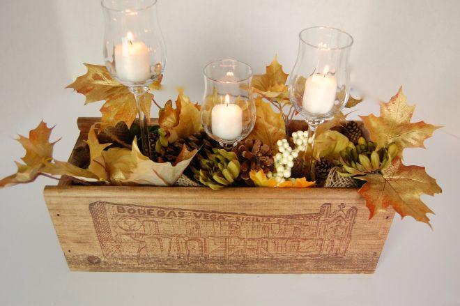 autumn , winter crate diy