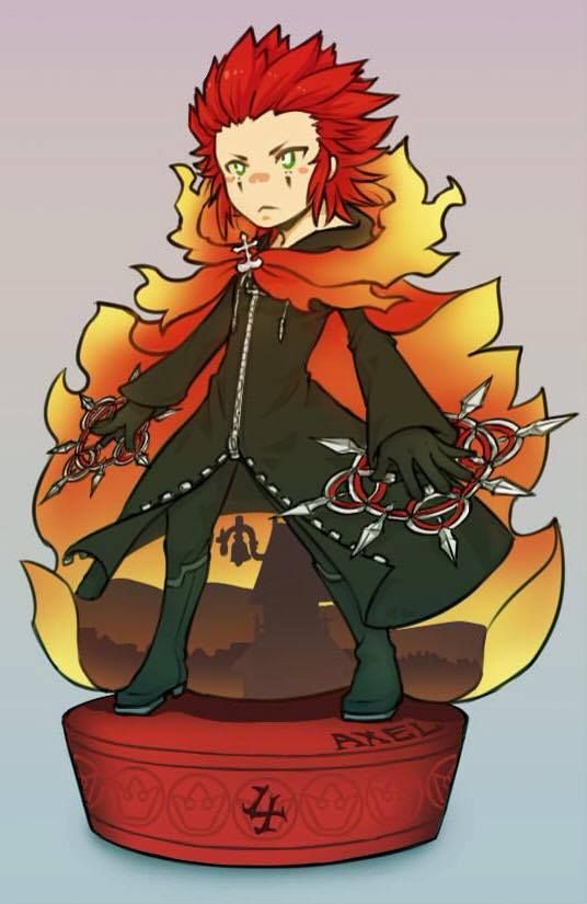 Axel - Kingdom Hearts