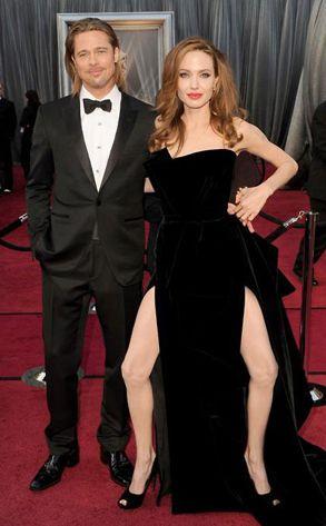 Jolieing.. Angelina's leg.. haha