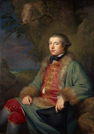 James Boswell by George Willison (1765), Scottish National Portrait Gallery