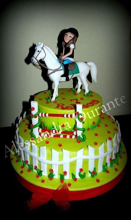 #cake #Party #birthey #alessandradurante #horse #handmade #withlove