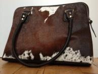 Tan Tote Cow Hide Leather Handbag £199 https://www.uberpolo.com/tan-tote-cowhide-leather-handbag/