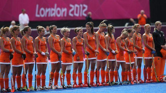 Netherlands, Women's Hockey Team, gold medal winners, London 2012