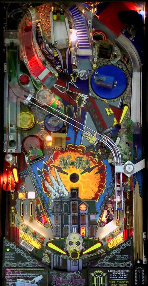 """The Addams Family"" | Pinball Playfield | #Pinball"