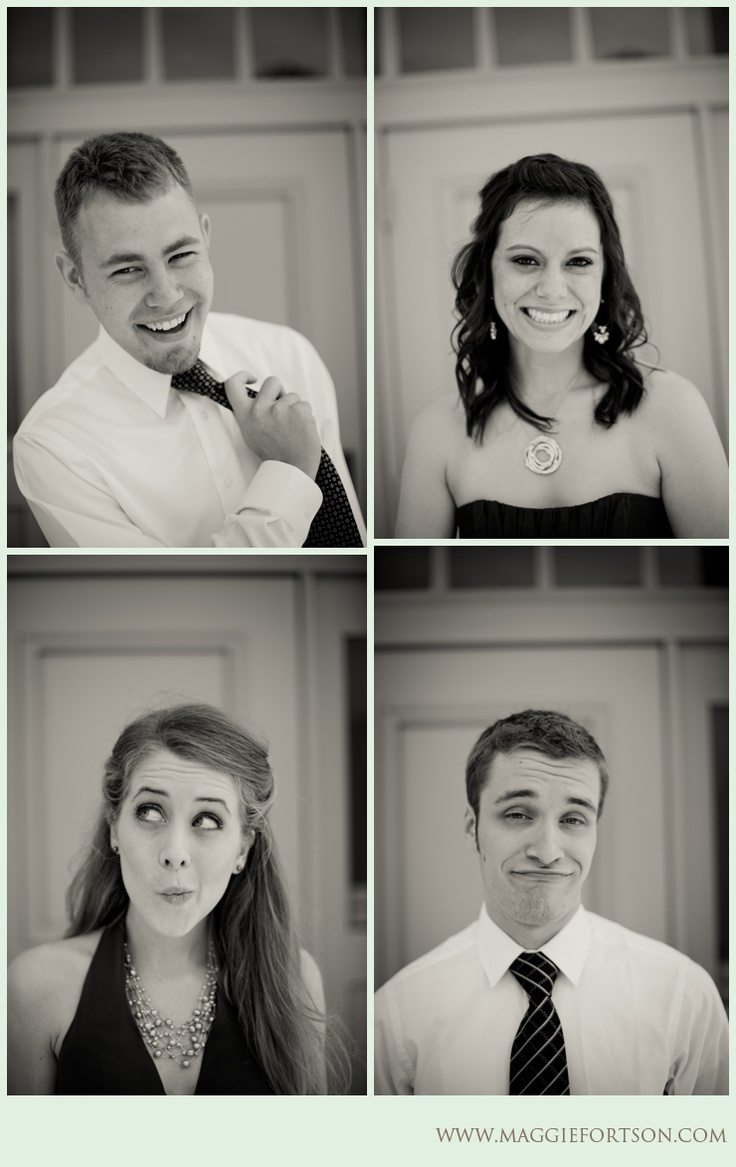 individual bridal party shots. by Maggie Fortson