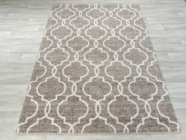Moroccan Tile Design Turkish Rug Size: 160 x 230cm