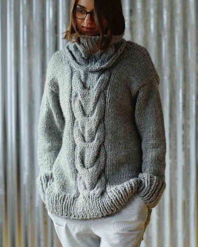 73b41bae5 love this slouchy chunky weekend cable jumper knitting pattern by erika  knight - ethical british yarns