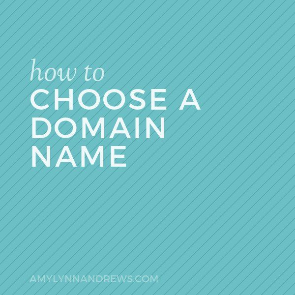 Here's how to choose a domain name that works, with practical tips to help you decide.