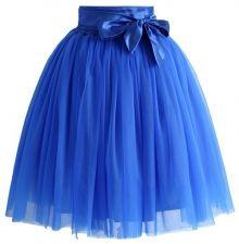 Chicwish TUTU sukně Amore, modrá