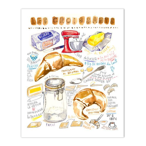 Image result for recipe illustration art party