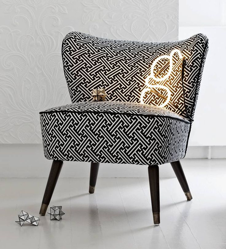 vintage bartolomew cocktail chair in lattice by galapagos | notonthehighstreet.com