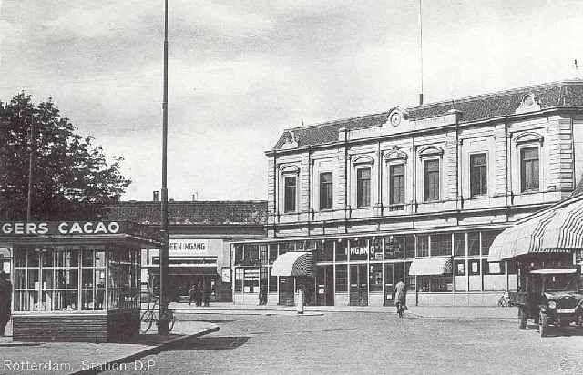 station Rotterdam Centraal stationsgebouw II (1920)