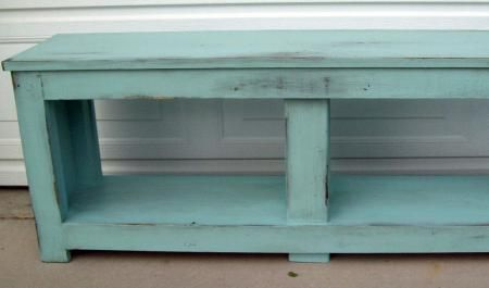 Aqua Spa Bench for Entry | Do It Yourself Home Projects from Ana White