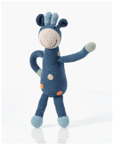 Pebble Hathay Bunano - Blue Giraffe.