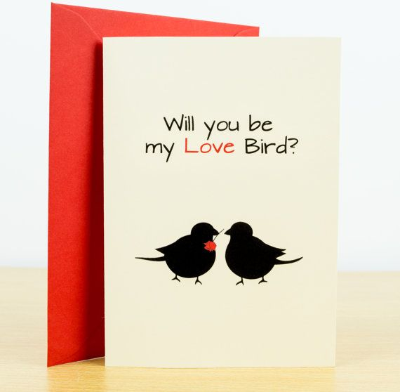 LOVE card  romantic cards valentines card love you by NaturesPals
