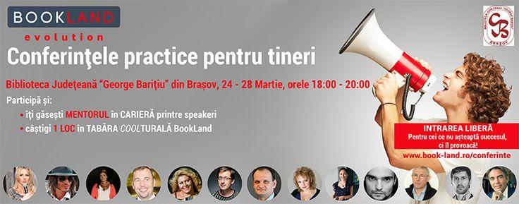 Bookland Evolution la Biblioteca Judeţeană Braşov