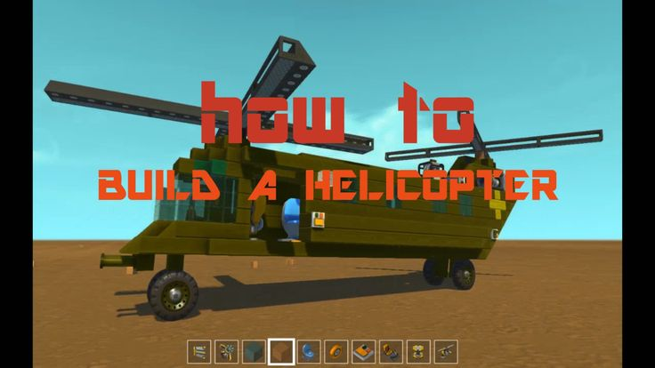 how to build a hovercraft scrap mechanic
