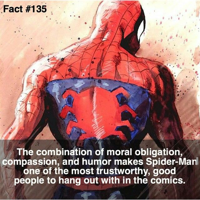 I would hang out with Spider-Man everyday if I got the chance