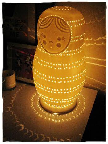 NESTING DOLL lamp