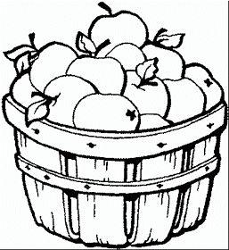 Maestra de Primaria: Frutas y verduras para colorear ...