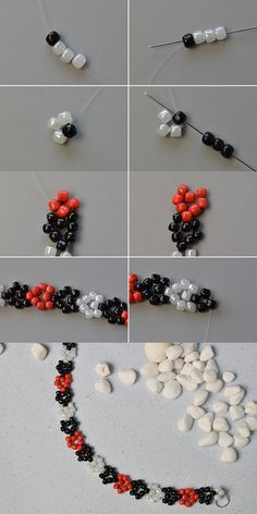 Like the seed beads beaded bracelet?The details will be published by LC.Pandahall.com