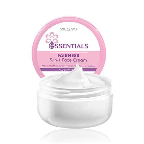 Essentials - Fairness-5-in-1-Face Cream / Crema para la Cara