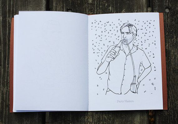 Here's A Jon Hamm Coloring Book #IncredibleThings <--- yesss!!!